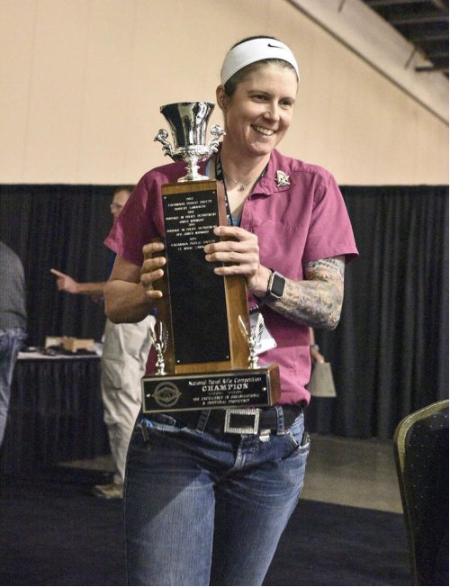 SHERIFF'S DEPUTY FIRST WOMAN TO WIN NATIONAL RIFLE COMPETITION